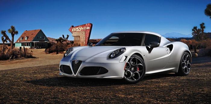 El Alfa Romeo 4C llegará finalmente a Estados Unidos en 2014