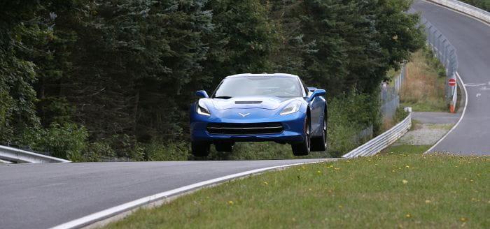 Chevrolet saca a pasear al nuevo Corvette Stingray por Nürburgring