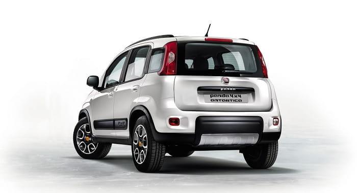 Fiat Panda 4x4 Antártica