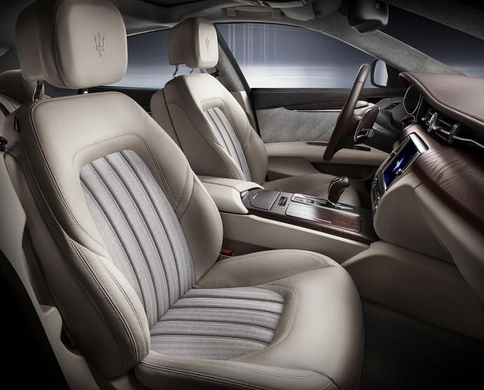 Maserati Quattroporte: Ermenegildo Zegna viste de gala al Quattroporte en Frankfurt
