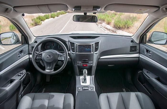 Prueba del Subaru Outback 2013