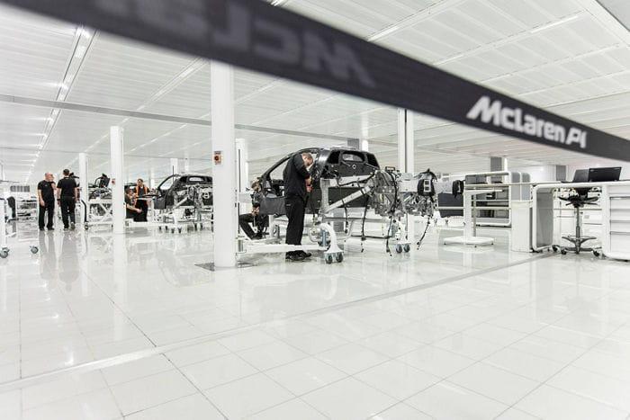 Comienza la producción del McLaren P1