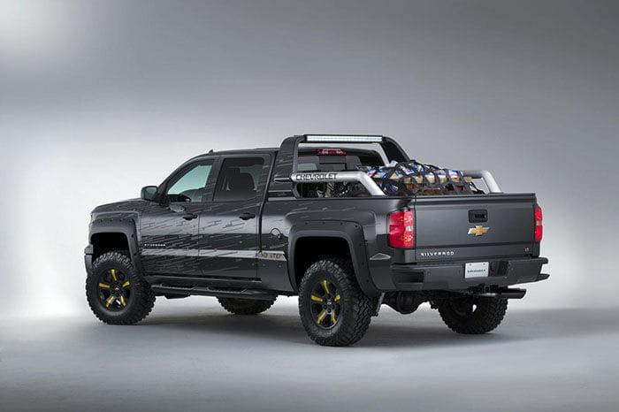 Chevrolet Silverado Black Ops y Z71 Volunteer Firefighter, dos Silverado pensadas para emergencias