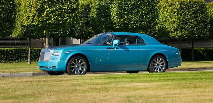 Rolls-Royce Ghawwass Phantom Coupe, inspiración marina para el palacio coupé
