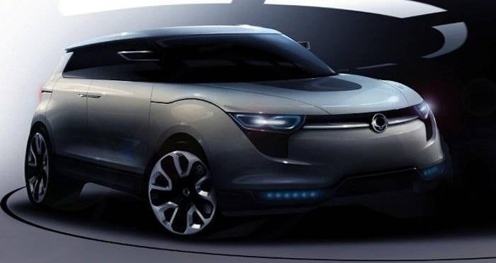 SsangYong revelará un nuevo SUV compacto en el próximo Salón de Ginebra