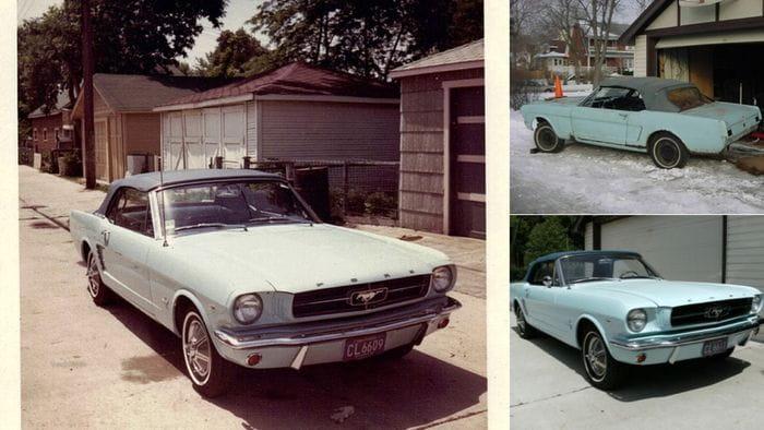 Así es como el primer Ford Mustang vendido volvió a la vida