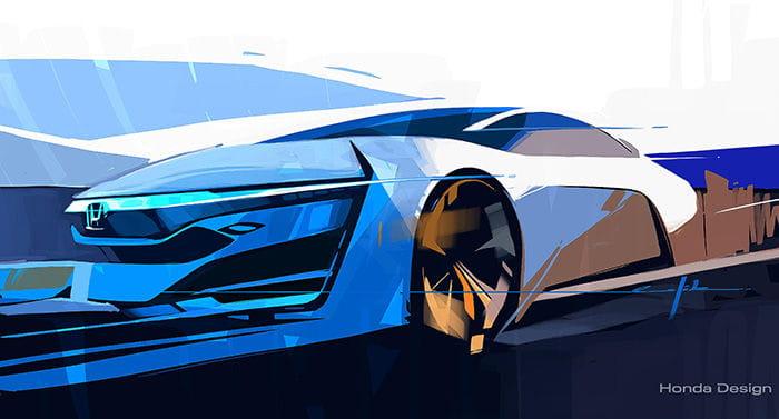 El Honda FCEV Concept se perfila como sucesor del FCX Clarity