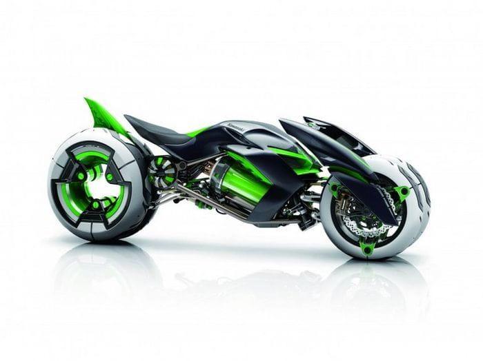 kawasaki j concept  la moto del futuro es una