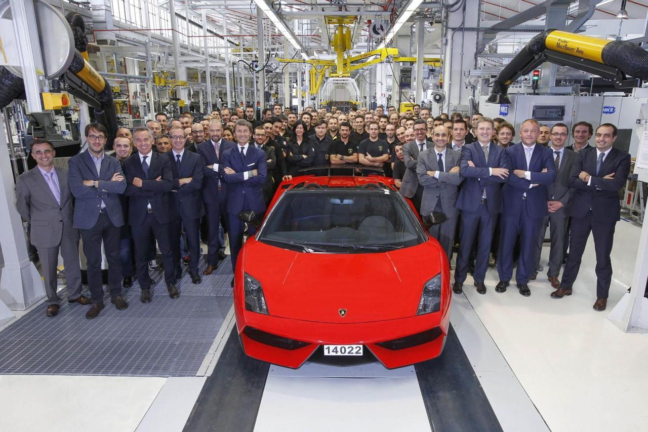 Punto y final a la producción del Lamborghini Gallardo, abran paso al Lamborghini Cabrera