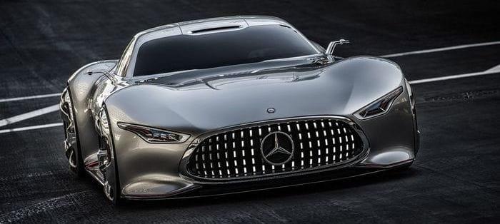 "Mercedes AMG Vision Gran Turismo, un ""alas de gaviota"" de videojuego"