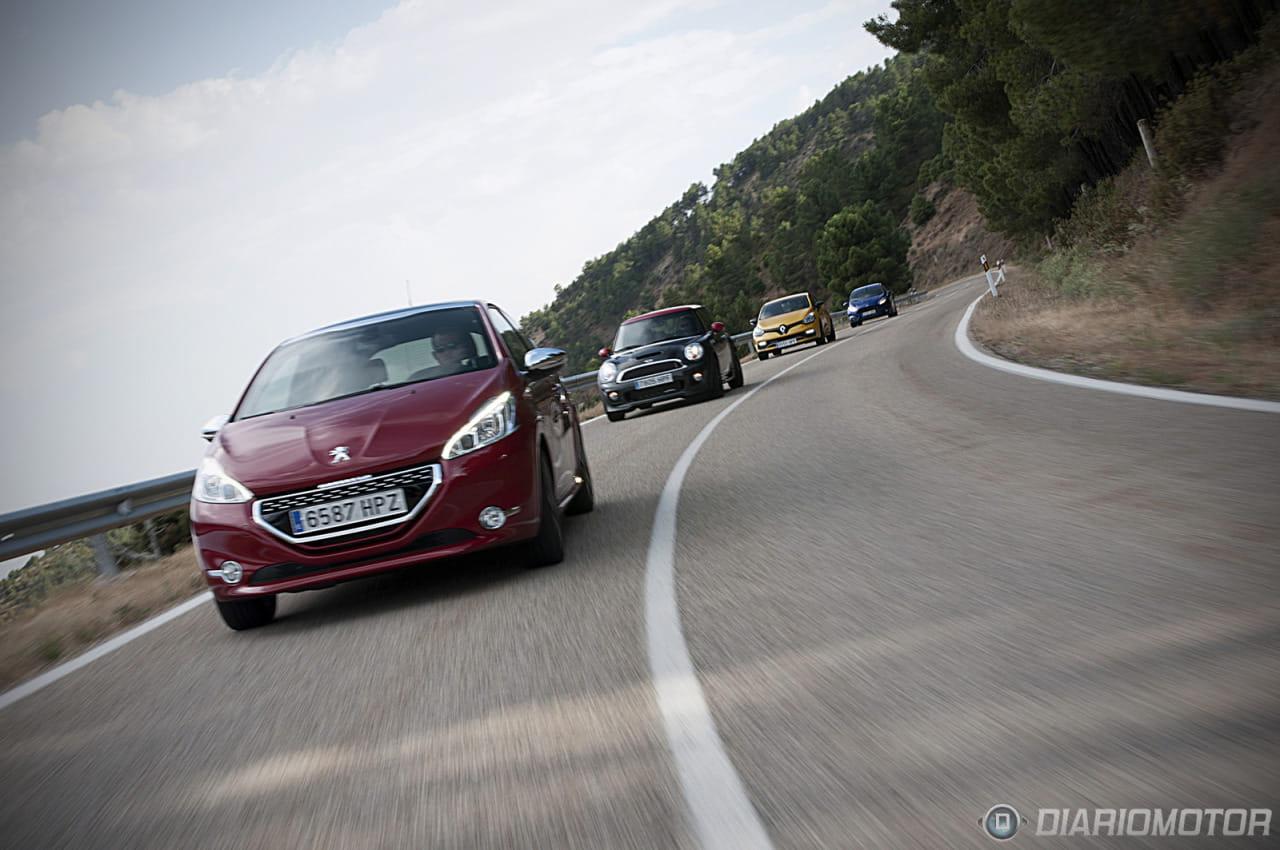 """Peugeot 208 GTI: Prueba y comparativa de """"Pequeños GTI"""""""