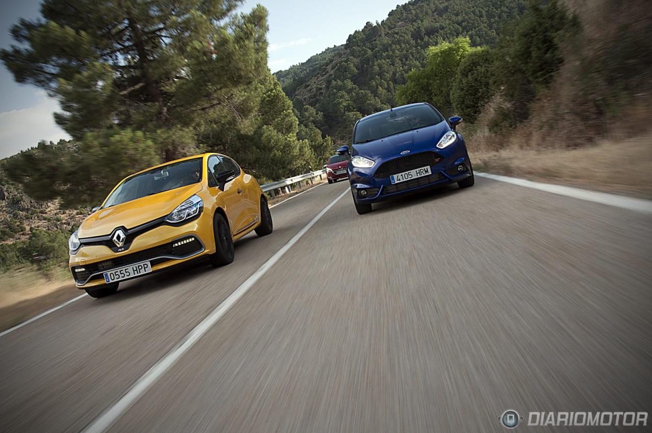 """Renault Clio RS: Prueba y comparativa de """"Pequeños GTI"""""""