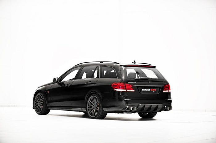 Mercedes E 63 AMG Wagon por Brabus: 850 caballos para toda la familia