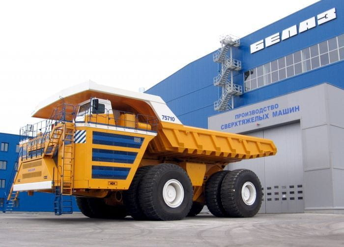 BelAZ 75710, así es el dumper más grande y capaz del planeta
