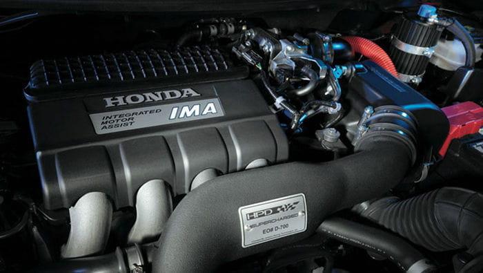 El Honda CR-Z alcanza los 190 cv en el SEMA