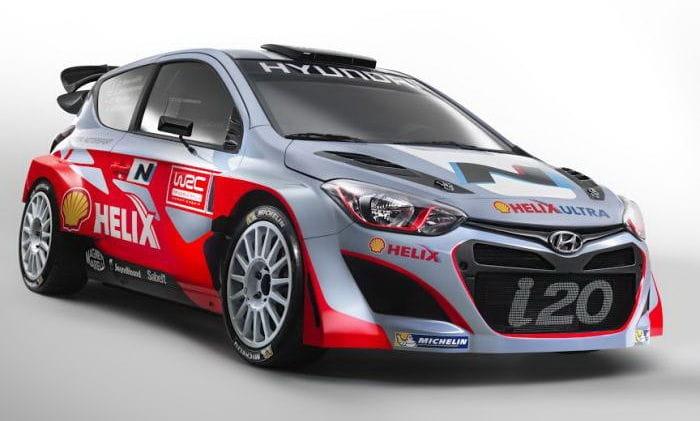 """Saluda al Hyundai i20 WRC y a la nueva denominación deportiva """"N"""""""