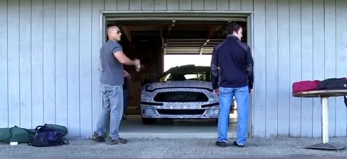 El arte del camuflaje y el desarrollo del nuevo Mustang
