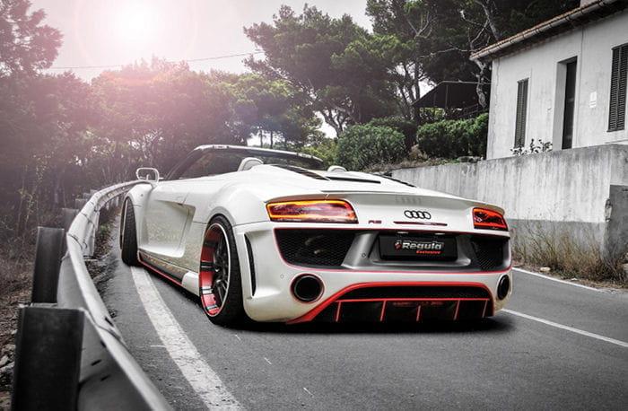 Audi R8 V10 Spyder por Regula Tuning