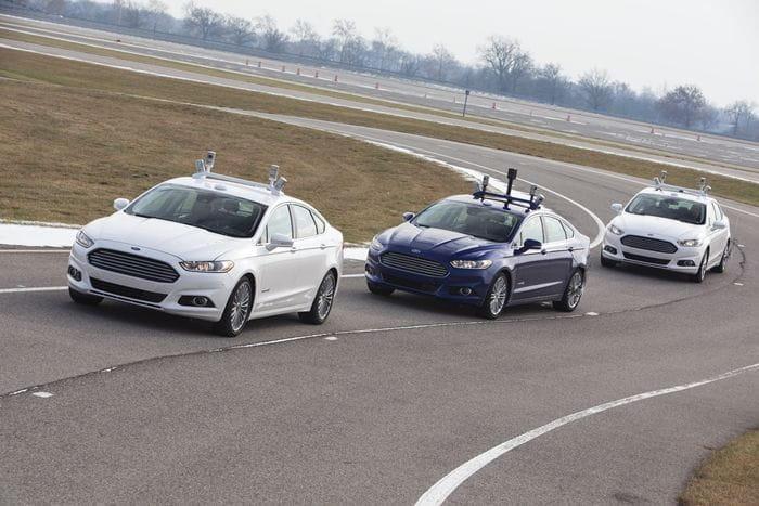 Así es como un coche autónomo ve el mundo real