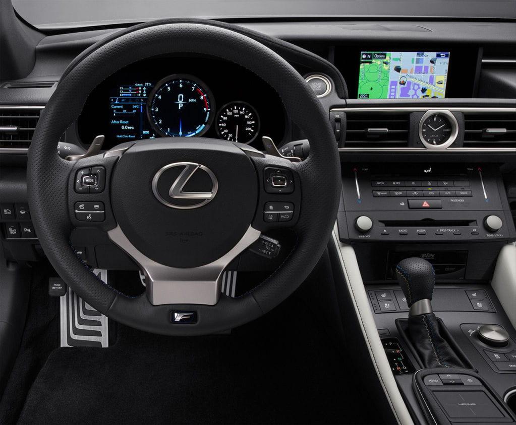 Lexus RC F 2015: 5 razones para amar al rival japonés