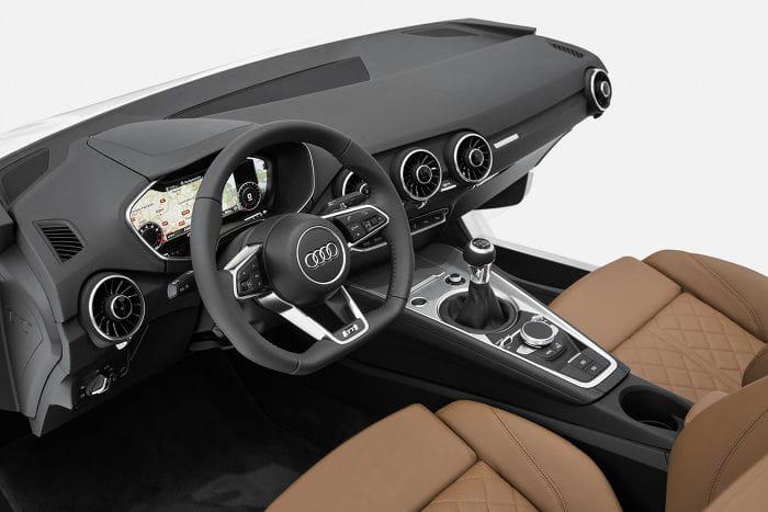 Nuevo Audi TT, primeras imágenes y detalles oficiales de su habitáculo
