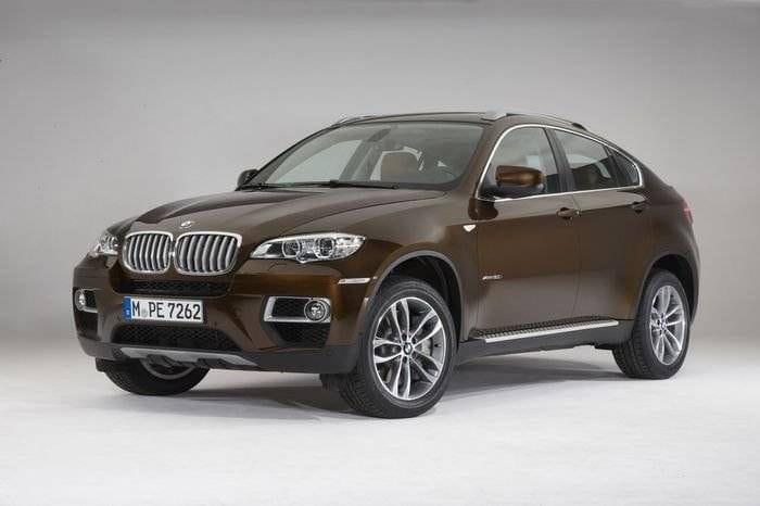 Habrá un renovado BMW X6 en el próximo Salón de Moscú
