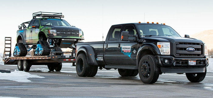 Ford F-150 RaptorTRAX