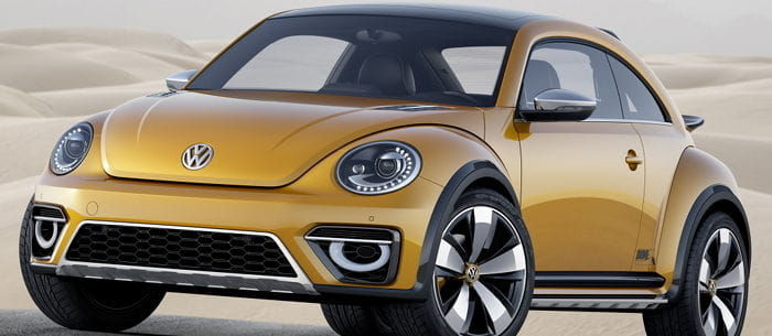 Volkswagen Beetle Dune Concept: sacando a relucir el lado más lúdico del Escarabajo