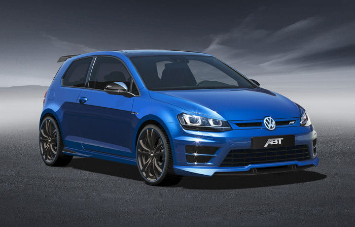 ABT prepara al Volkswagen Golf R: 370 caballos y aires más agresivos