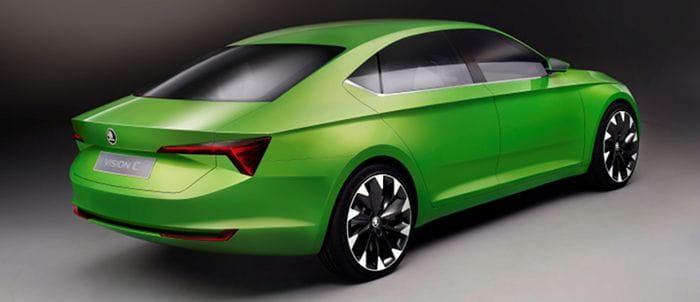 Skoda VisionC: llega la berlina de diseño coupé de Skoda
