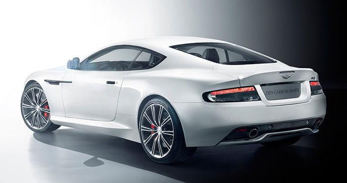 Aston Martin DB9 Carbon Black y Carbon White
