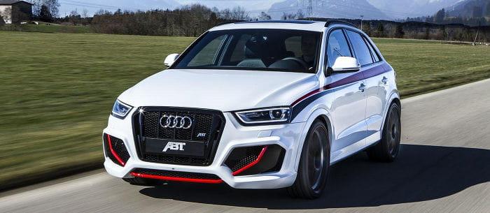 ABT Audi RS Q3: un nuevo kit de carrocería y 410 caballos para el SUV deportivo