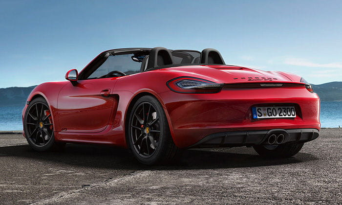 Porsche confirma la llegada de los motores bóxer de cuatro cilindros
