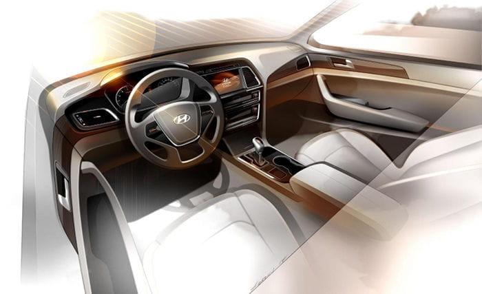 Hyundai Sonata, primeras imágenes en forma de boceto