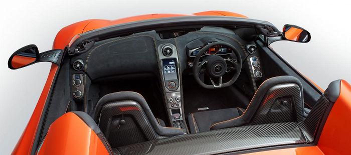 McLaren 650S Spider, todos los detalles del nuevo descapotable de Woking
