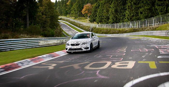 SEAT León Cupra en Nürburgring