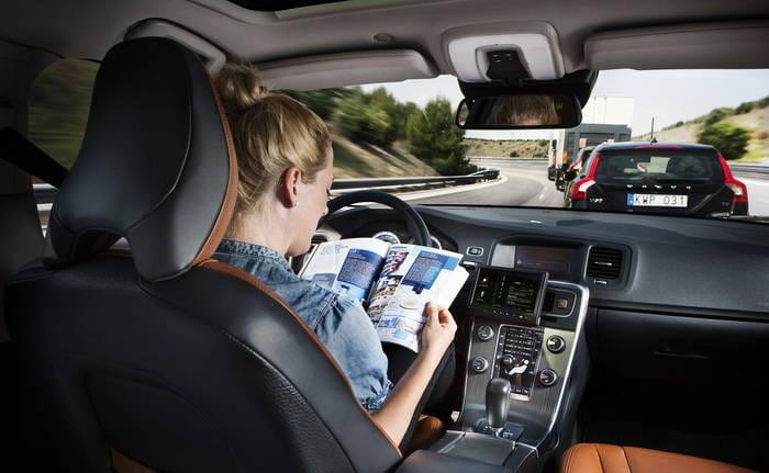 Volvo pone en marcha el mayor experimento de conducción autónoma