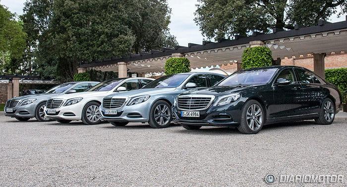 Mercedes Clase S: el placer de sentirte VIP por un día