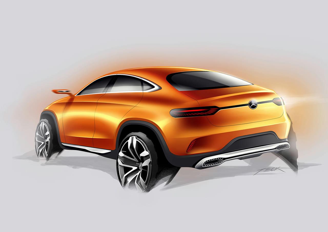 Mercedes Concept Coup Suv M S Temprano Que Tarde Mercedes Benz Tendr Su X6 Y Este Ser Su