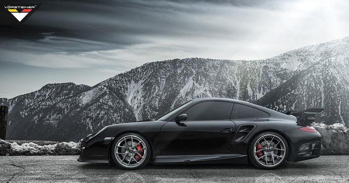 Vorsteiner presenta un nuevo kit para el Porsche 911 (997) Turbo