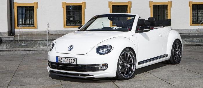 Volkswagen Beetle Cabrio por ABT: 260 caballos para el Escarabajo descapotable
