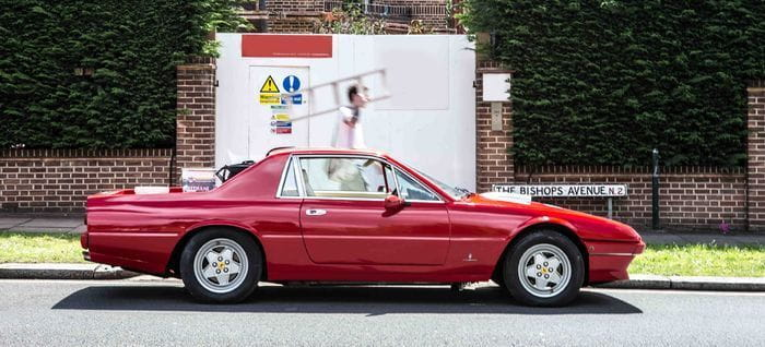 ¿Sacrilegio o genialidad? Un Ferrari 412 pick-up con motor Chevrolet V8