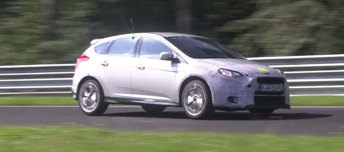 Ford Focus RS, avistado en Nürburgring: ¿dónde está el límite para un tracción delantera?