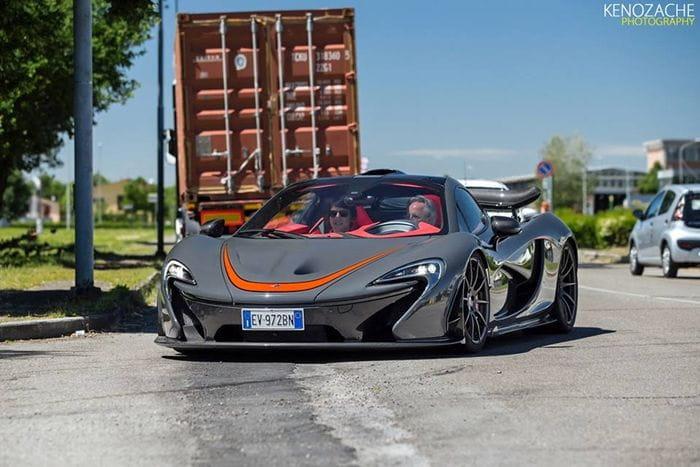 Horacio Pagani… ¿Por qué conduces un McLaren P1?