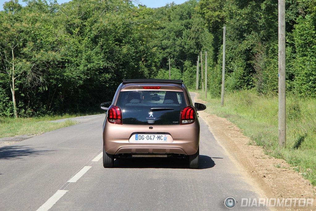 Paris y el Peugeot 108