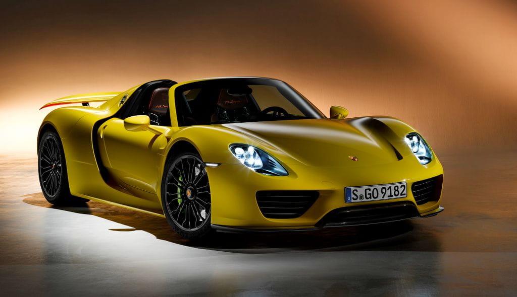 Cohete híbrido: conociendo al Porsche 918 Spyder