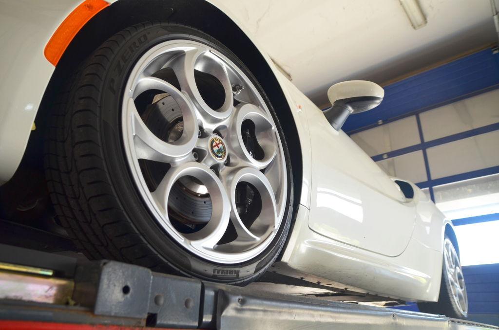 Llanta y rueda del Alfa romeo 4C