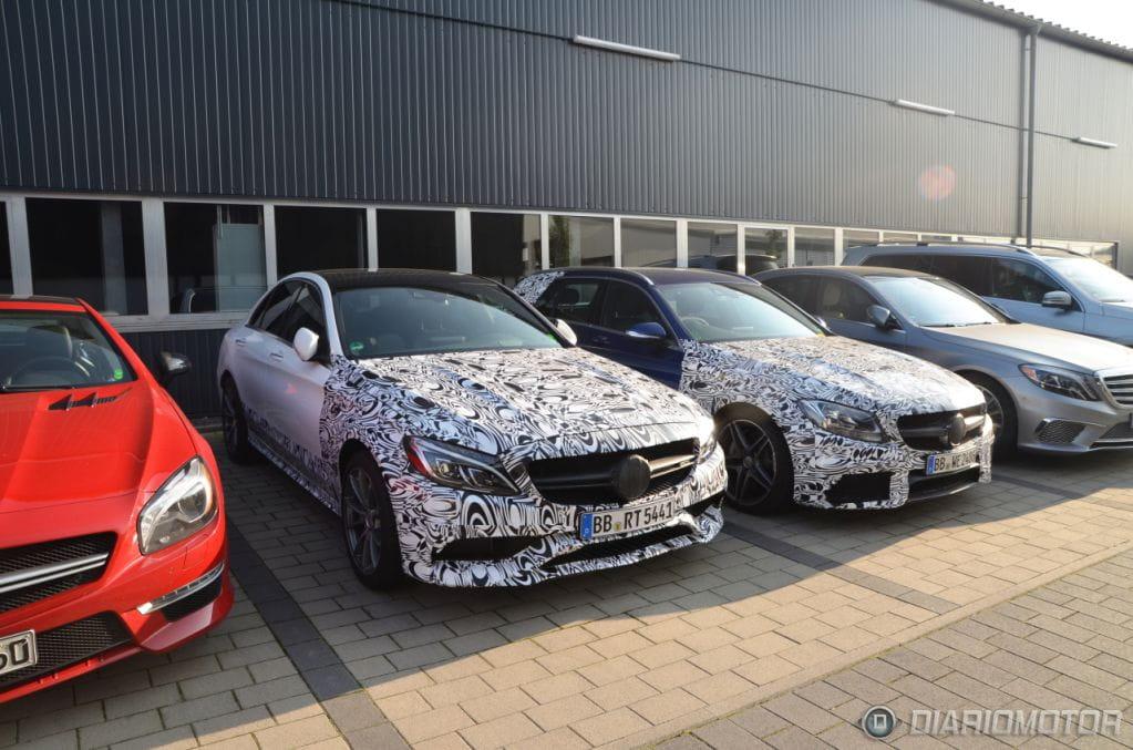 Mercedes Benz Classe C Iv Prj W205 Sedan Amg Spy Pagina 31