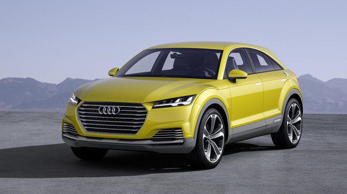 La próxima generación del Audi Q3 llegará en 2018