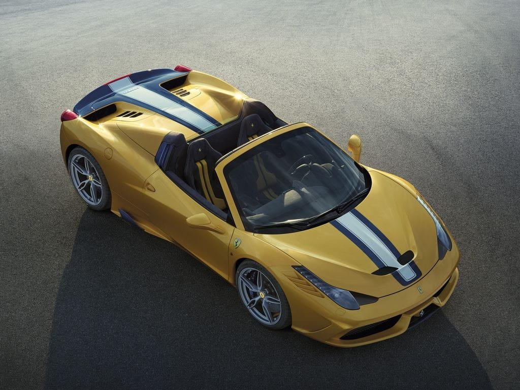 Gallería fotos de Ferrari 458 Spider